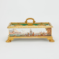 French Porcelain Inkwell