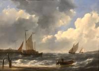 P112 Schepen voor de kust - Johannes Christianus Schotel