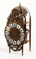 Lovely French Lanternclock by F Fouquet Dacon in unrestored condition, circa 1740