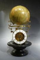 An exceptional desk-globe clock, Pendule Cosmographique, by Mouret, Paris , c.1880.