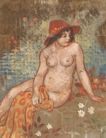Young bather