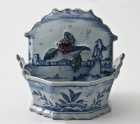 A Pair of Tureen and Covers in Polychrome Delftware