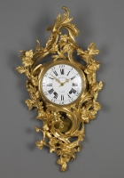 French Louis XV Cartel Clock