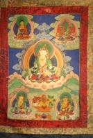 Thangka schilderkunst Tibet Boeddhistisch