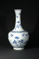 Blue and white porcelain vase Chinese ceramics