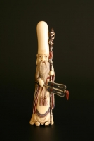 An ivory sculpture of Shoulao Chinese works of Art