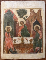 Holy Trinity Russian icon