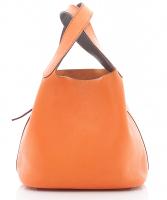 Hermès Oranje Picotin Lock MM Handtas  - Hermès