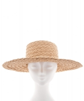Christian Dior by Gianfranco Ferre Straw Hat