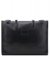 Hermès Black Leather Kaba Tote - Hermès