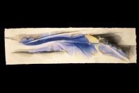 EP06,  Ryosaku Kotaka Suminagashi painting on washi paper - . Ryosaku Kotaka