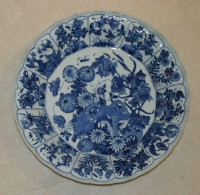 Plate with chrysanthema