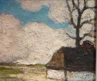 Vue de ferme (Landschape with farmhouse) Belgian expressionism