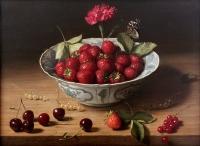 Still life painting by J.H. Eversen (Dutch 1906-1995)
