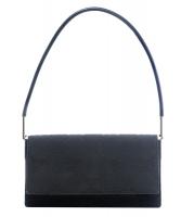 Gucci Black Monogram Canvas Pochette Shoulder Bag - Gucci