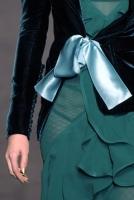 Yves Saint Laurent Silk Velvet Jacket with Top