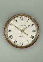 Early English dial clock John Skinner, diameter 21 inch/ 53 ½ cm, 8 day, circa 1812.