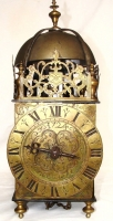 LA09 Heavy built one hand lantern clock
