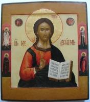Christus Pantocrator, Russische ikoon, ikonen uit Rusland, iconen, Rusland, Russisch