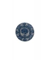 Een Klein Blauw - Wit Delfts Bordje