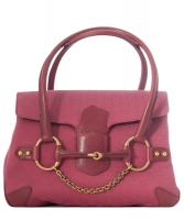 Gucci Raspberry Guccissima Canvas Top Handle Bag