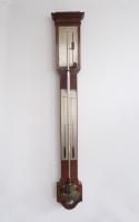 French Stick Barometer circa 1830 signed Vincent CHEVALIER ainé, Paris.