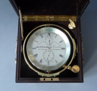 An excellent two day marine chronometer, no.5184, Barraud, London,  c. 1890.