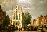 Townhall, Gouda in The Netherlands