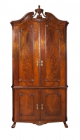 Dutch Louis Seize corner cabinet