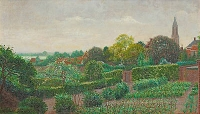View of Rhenen - Ferdinand Hart-Nibbrig