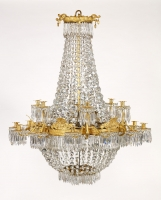 Russian Empire 18-light Chandelier