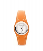 Hermès Brown Leather 'Harnais' Watch