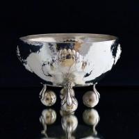 Hammered Silver Coupe, Wiener Werkstätte