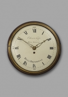 A fine and compact 19th century mahogany wall clock, Ellicott & Taylor, London, c.1815.
