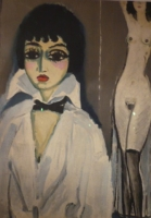 Marcelle Leoni poster, after a painting by Kees van Dongen 1919