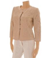 Armani Collezioni Ivory Lace Blazer
