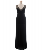 Valentino Black Evening Gown