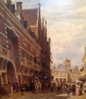 Vijgendam Amsterdam, The Netherlands middle 17th century