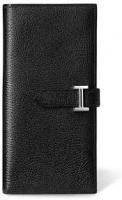 Hermès Black 'Bearn' Wallet