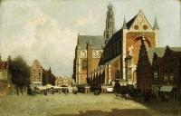 St. Bavo Chruch, Haarlem, Holland