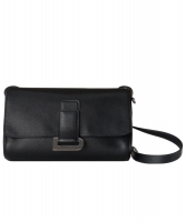 Delvaux Passerelle Black Leather Shoulder Bag - Delvaux
