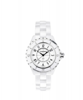 Chanel J12 White Ceramic Bracelet Watch