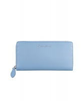 Ralph Lauren Blue Soft Ricky Zip-Around Wallet