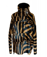 Acne Studios Tyler Animal-print Calf Hair Parka  - Acne Studios