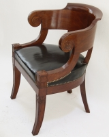 Empire desk chair