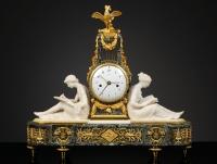French Louis XVI Mantel Clock by Lepaute