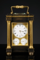 English Carriage Clock, Arnold & Dent London