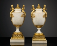 Pair of French Louis XVI Vases
