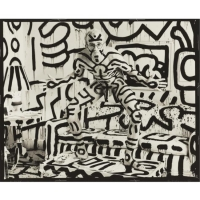 Keith Haring, New York, 1986 - Annie Leibovitz