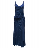 Versace Night Blue Maxi Dress - Gianni Versace